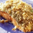 Salmon Fillet with a Boursin® Crust
